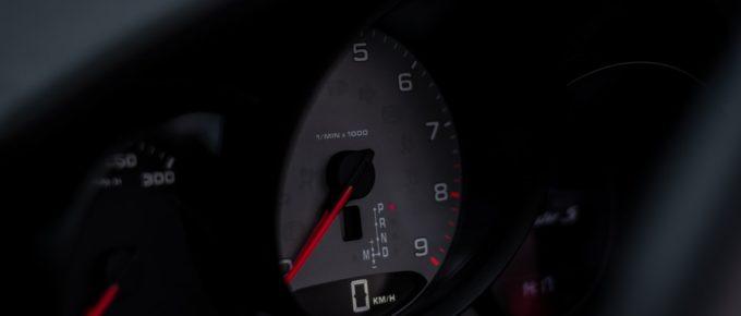Porsche Tacho